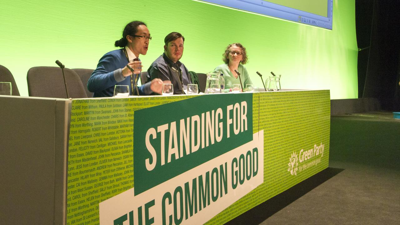 Green Party conference